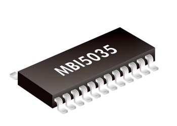 LED Driver IC -16-Channel Constant  MBI5035