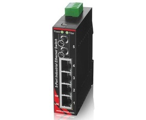 Unmanaged Ethernet Switches 5 Port with Fiber SL-5ES-2/3